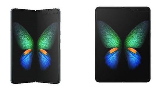 지난 2월 삼성전자가 공개한 폴더블 스마트폰 '갤럭시 폴드(Galaxy Fold)'. [삼성전자]