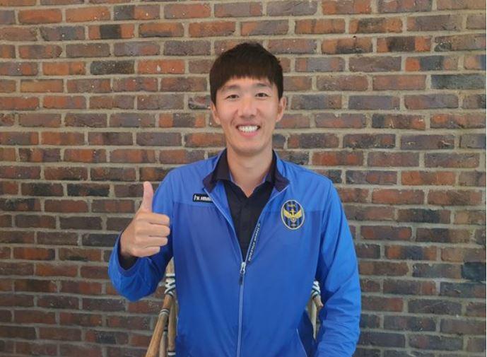 김정우 대건고 감독은 부임 반년 만에 전국체전 우승을 이끌었다. [사진 김정우]