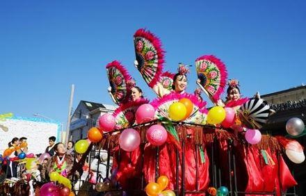 미국 뉴욕의 퀸즈한인회가 지난해 개최한 설맞이 축제 장면